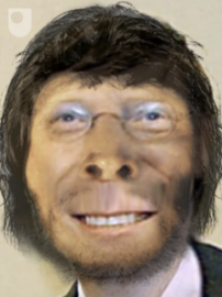 Bill Gates, Devolved 500,000 Years or So