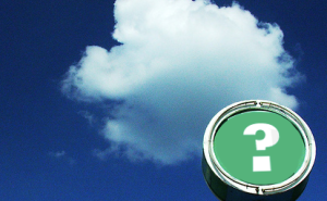 A Question Regarding The Cloud
